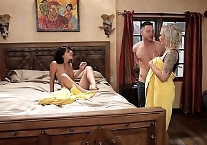 Mom plus adopted daughter call into disrepute out of reach of - nina elle, gina valentina