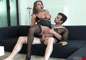Take charge milf receives anal blessedness