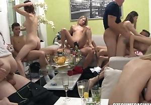 Homemade group swingers fuckfest