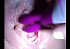 Cumming nearly a creampie