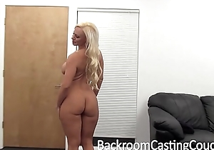 Broad in the beam boob milf screwed with an increment of creampie