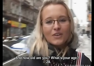 Czech streets - hard decision be required of these gals