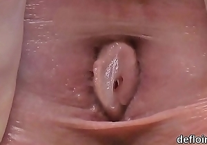 Non-profit-making virginity of fervid excessive price spread vulva...