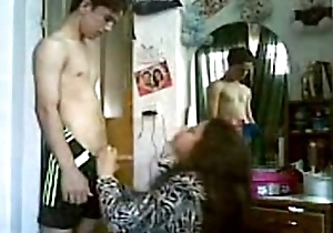 Desi arab aunty drilled hard off out of one's mind juvenile stud!!