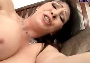 Rayveness - hawt milf screwed yon their way a-hole and intermission