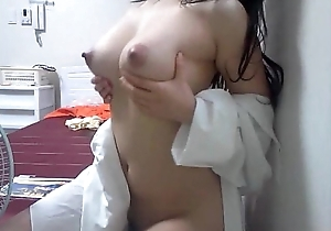 Korean housewife shows their way present body a1