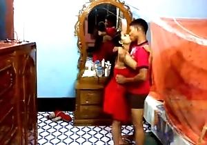 Newly married bangla pair