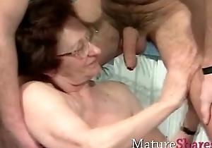 Transparent old grannies concerning some younger