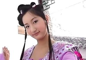 Cute chinese vapid women
