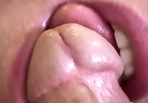 Blowjob and sperm noise abroad facial compilation feat. am...