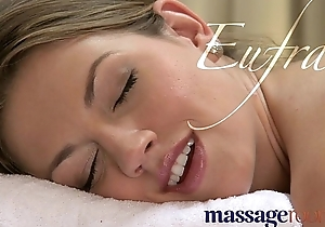 Massage rooms hawt pebbles fleshly foreplay ends...
