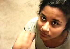 Beautiful indian girfriend facial