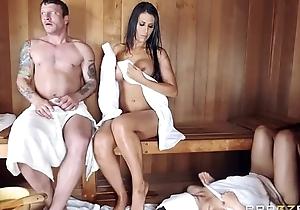 Plotting sauna and porn