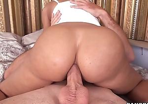 Lisa ann anal joy atop bangbros.com