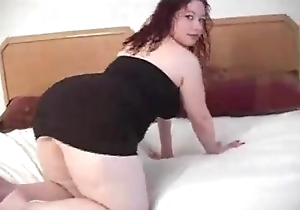 Bbw lalin girl acquires anal