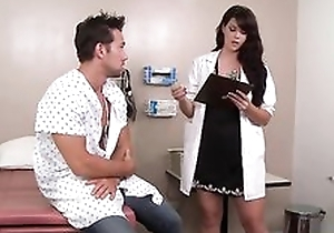 Blue dark haired bastardize likes fucking their way patients