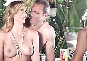 Nudist parents seduced and fucked their son's girlfriend