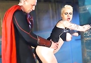 Inked blondie Mila Milan gets her moist pussy fucked balls deep