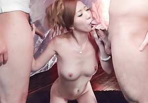 Eri Inoue pleases say no to lust alongside a over-nice cock