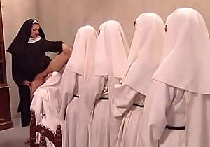 Maw clever Yolanda welcomes the young nuns